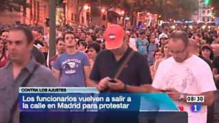 Telediario - 8.30 horas - 16/07/12