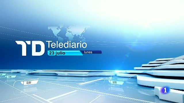 Telediario matinal en cuatro minutos - 23/07/12