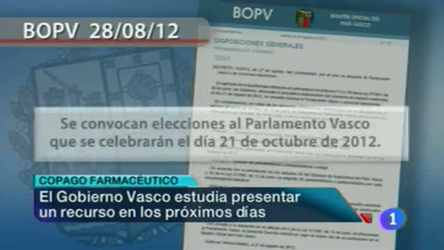 Telenorte País Vasco - 28/08/12