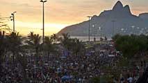 Televisión Española vive el desfile de carnavales de Río de Janeiro desde dentro de una escuela de samba