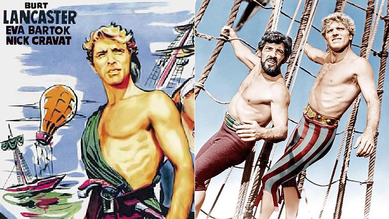 'El temible burlón', Burt Lancaster y el mejor cine de aventuras en 'Clásicos de La 1'