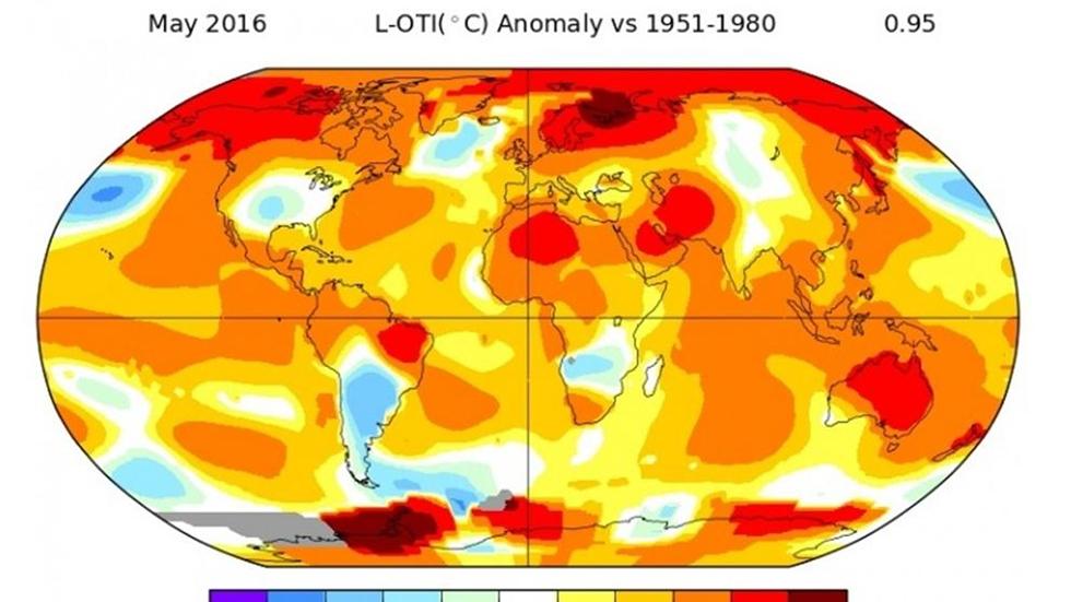 La temperatura global batió nuevos récords el pasado mes de mayo