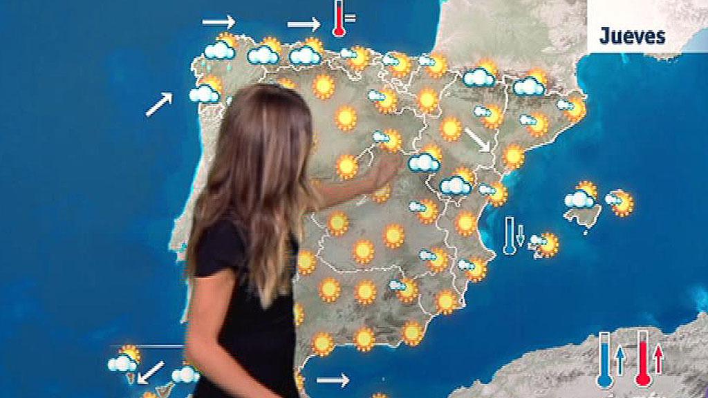Temperaturas altas en el interior del sur y el este peninsular y en Baleares