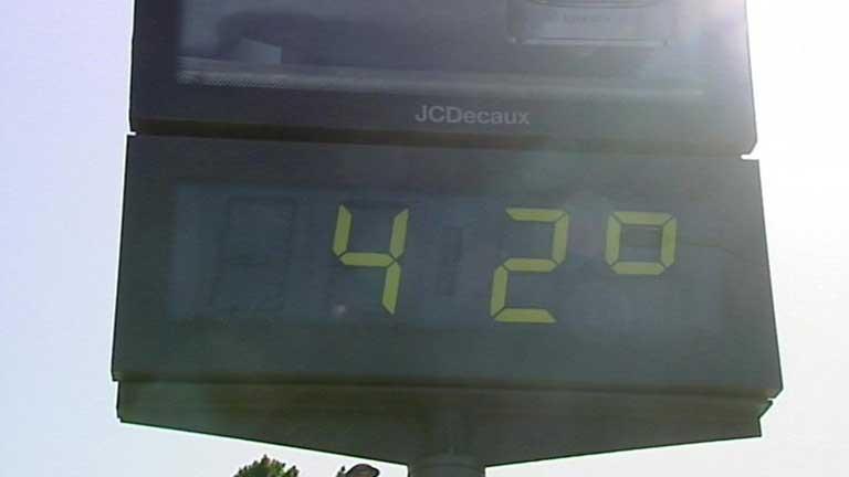 Temperaturas significativamente altas en la mayor parte de la Península