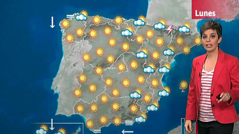 Temperaturas altas en Madrid, Toledo, Córdoba y Sevilla