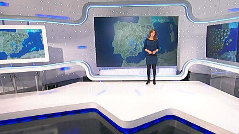 Temperaturas en aumento y lluvias en el oeste de Galicia