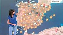 Temperaturas muy altas en gran parte del interior de la península