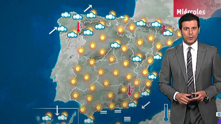 Las temperaturas seguirán altas en el sudeste peninsular y en Mallorca