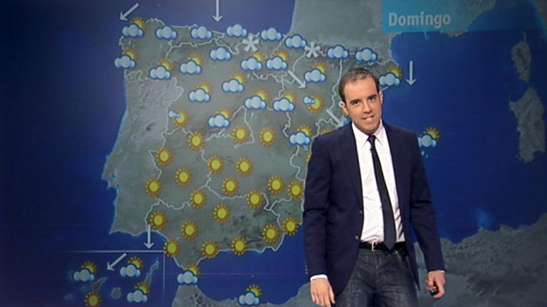 Lluvias débiles en la mitad norte y temperaturas sin cambios
