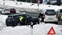 El temporal complica los desplazamientos en el este de España