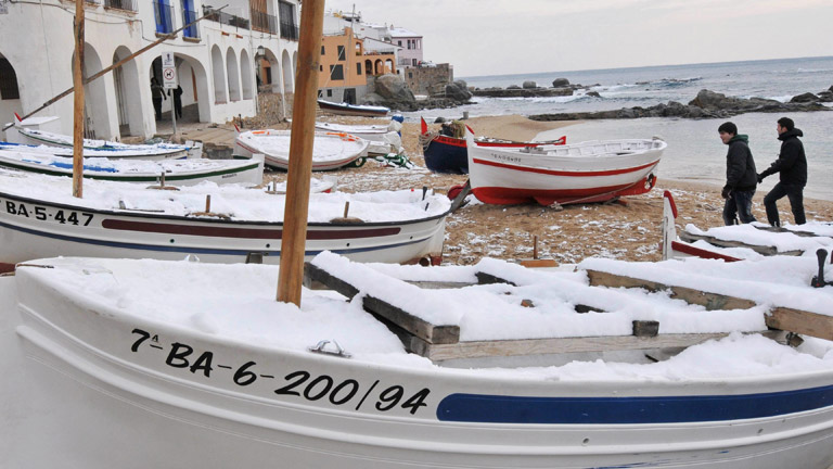 El temporal de frío de norte a sur de la península