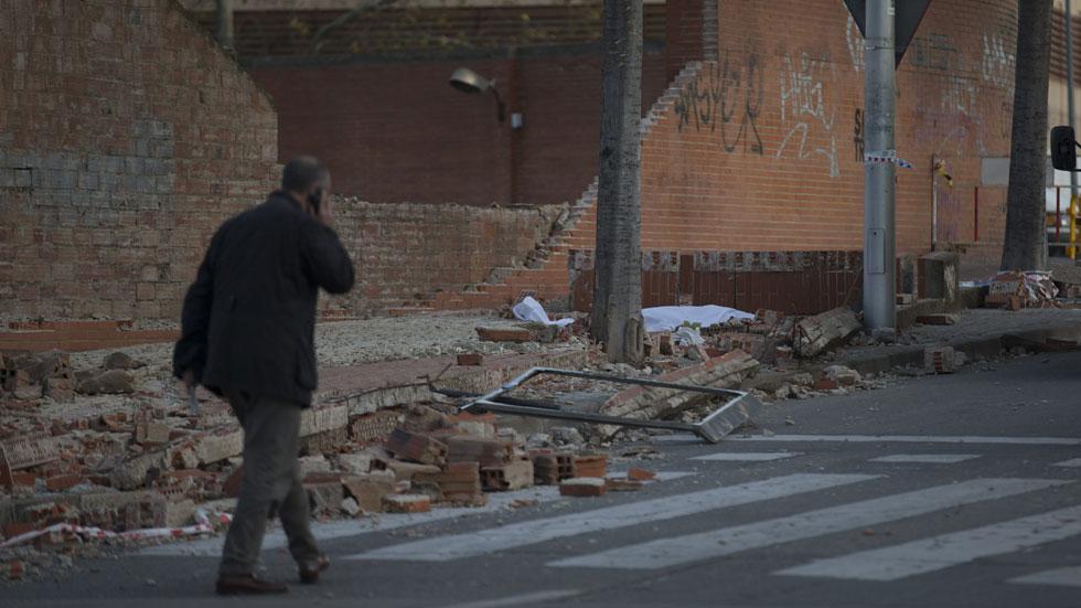 El temporal de viento deja tres muertos en Cataluña