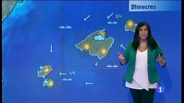El temps a les Illes Balears - 21/06/17
