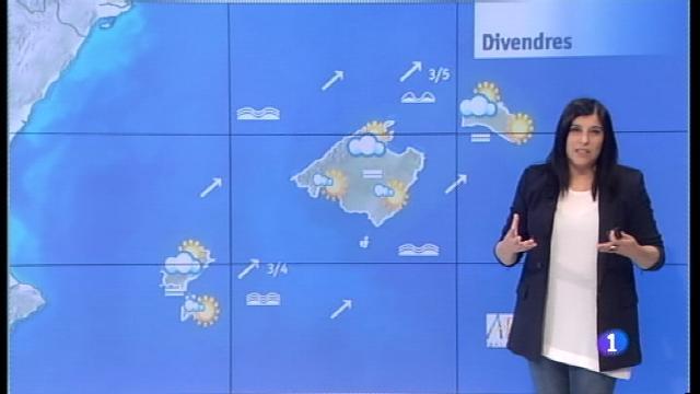 El temps a les Illes Balears - 23/11/17