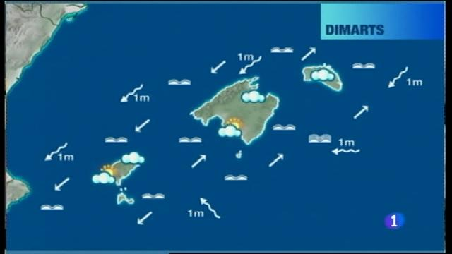 El temps a les Illes Balears - 24/10/16