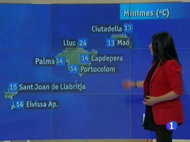 El temps a les Illes Balears - 26/04/12