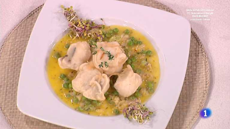 Cocina con Sergio - Tempura de merluza a las finas hierbas