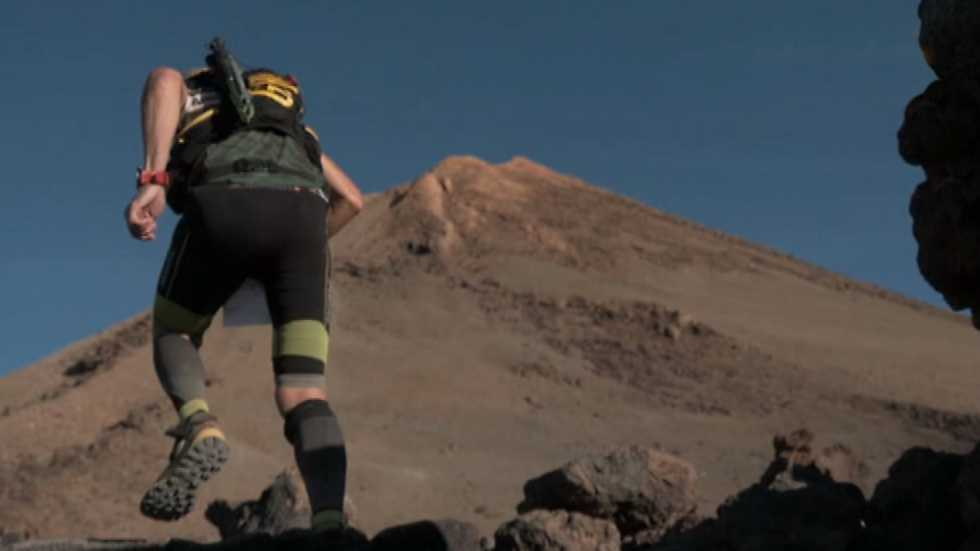 Carrera de montaña - Tenerife Blue Trail 2016