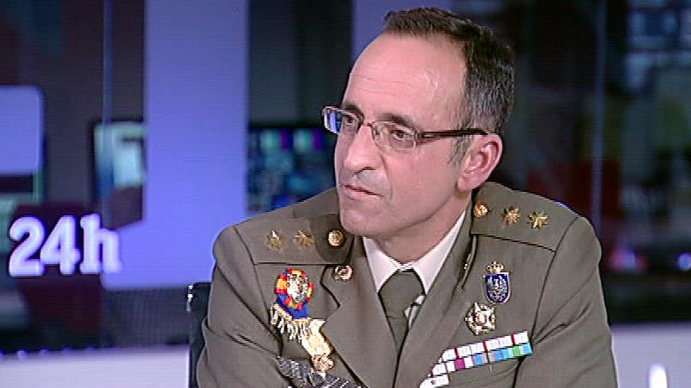 """Teniente Coronel Díez Alcalde: """"Cuando hay una cierta estabilidad los yihadistas intentan atacar ese avance"""""""