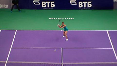 WTA Torneo Moscú (Rusia) 1/4 final: Goerges - Tsurenko