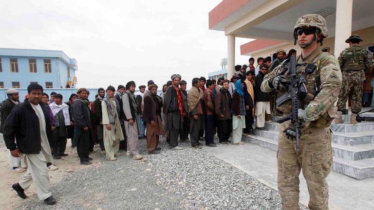 Las tropas de EE.UU. en Afganistán, en alerta
