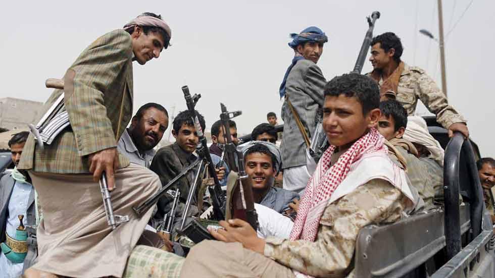 Tercer día de bombardeos en Yemen