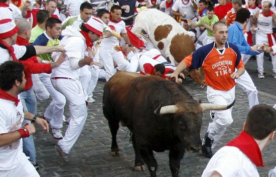 Rapídisimo encierro de los toros de El Ventorrillo