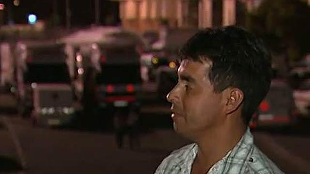 Tres noches en la calle tras el terremoto de Lorca