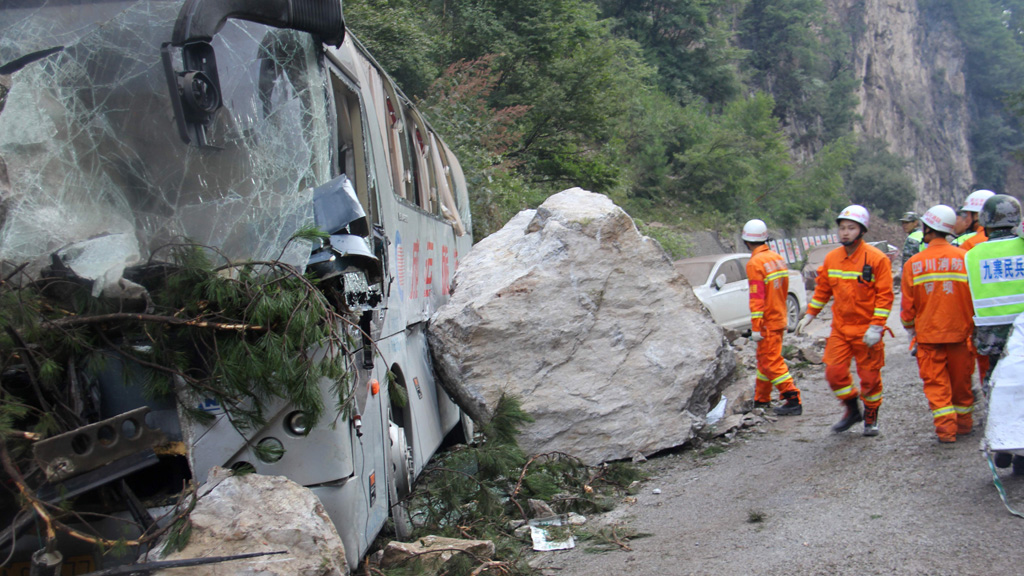 Un terremoto en China deja una veintena de muertos y más de 250 heridos
