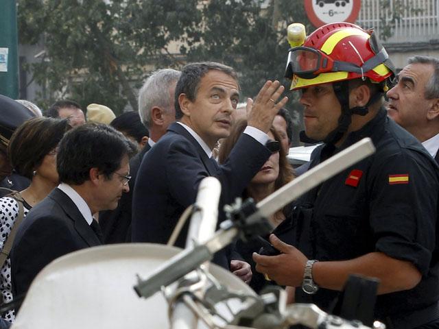 """Zapatero: """"El terremoto ha sido fuerte, España lo es más"""""""