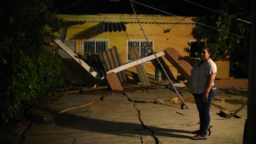 Un terremoto de magnitud 8,2 causa grandes daños en Oxaca y Chiapas (México)