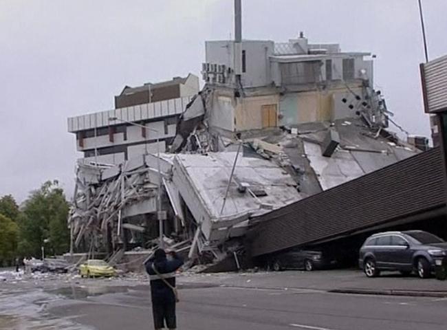 Nueva Zelanda sufre un terremoto de 6,3 en la escala de Richter con 65 muertos