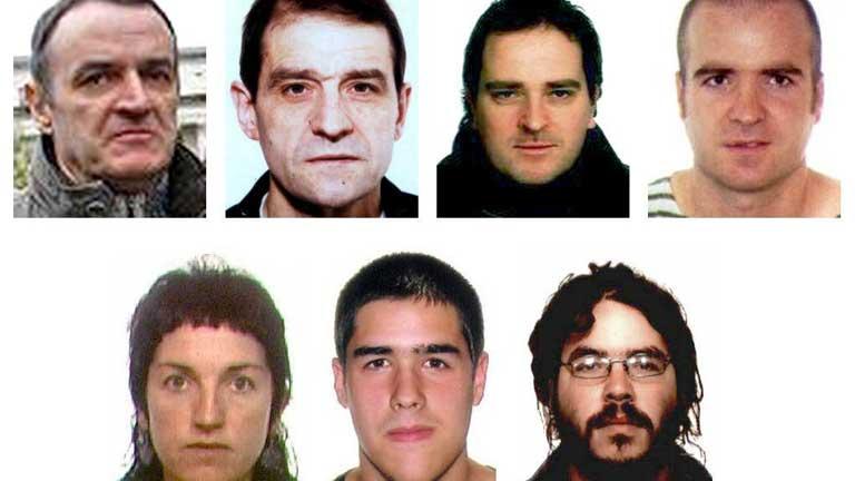 Lista de Los terroristas más buscados con de Juana Chaos y Josu Ternera