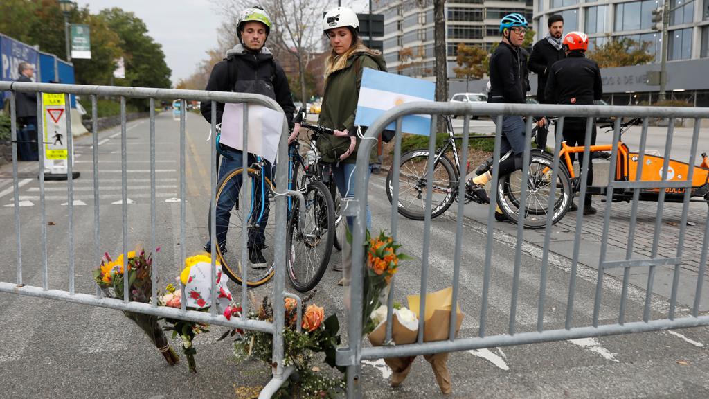 Testigos del ataque en Nueva York, la vida sigue
