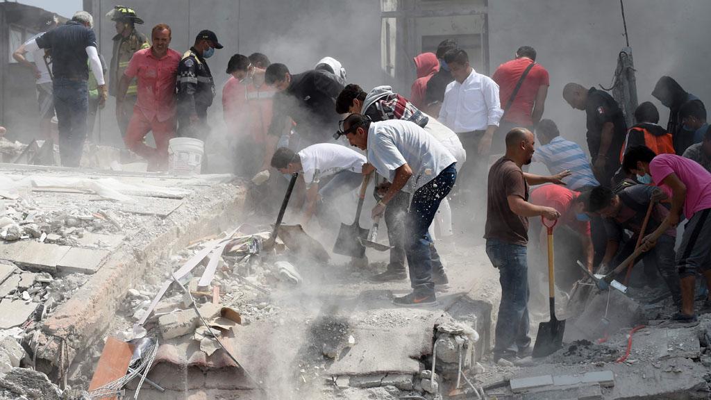 """Los testigos del terremoto: """"Ha sido impresionante"""""""