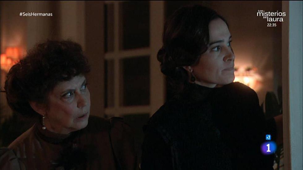 Seis Hermanas - La tía Adolfina trata de distraer a Adela