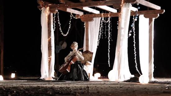 Medina del Campo: Tibi and her Cello - Far away