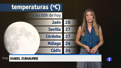 El tiempo en Andalucía - 09/06/17