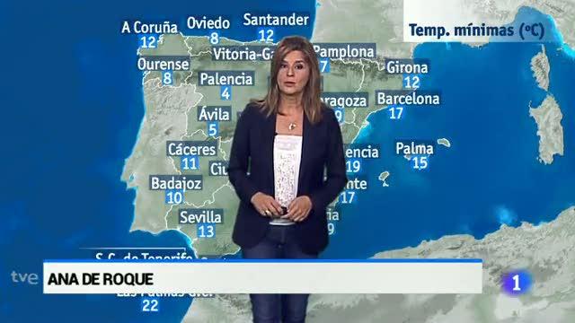 El tiempo en Andalucía - 10/10/16