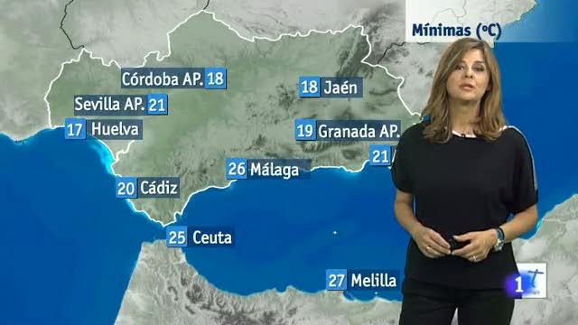 El tiempo en Andalucía - 14/06/16