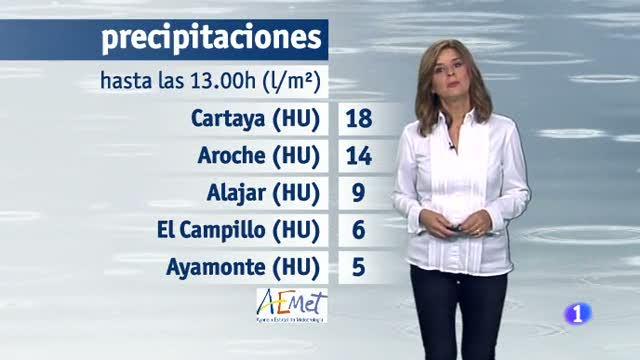 El tiempo en Andalucía - 17/10/17