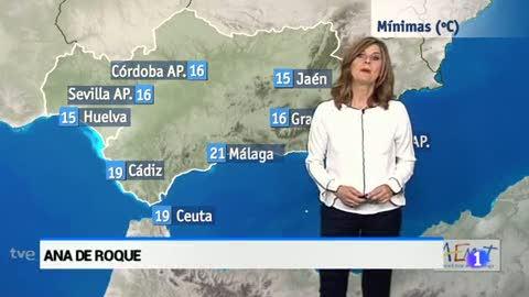 El tiempo en Andalucía - 29/06/2017