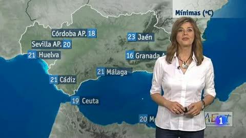 El tiempo en Andalucía - 9/6/2016