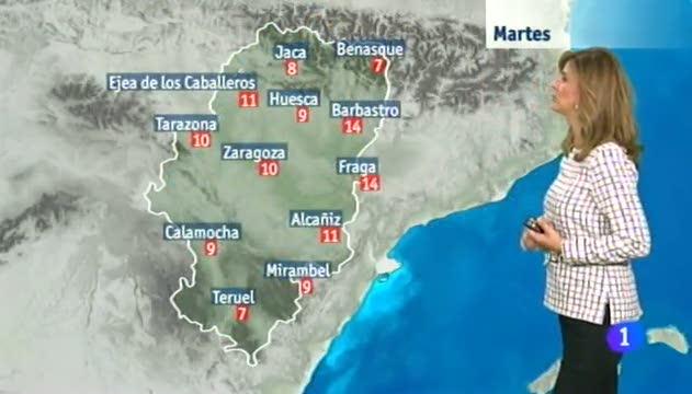 El tiempo en Aragón - 11/11/14