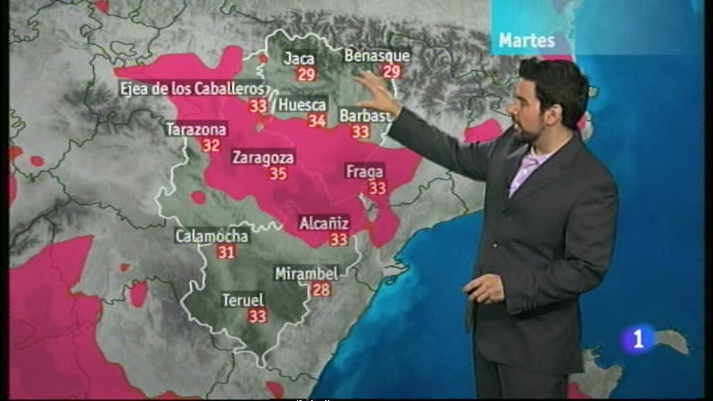 El tiempo en Aragón - 17/07/12
