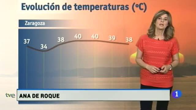 El  tiempo en Aragón - 19/06/2017