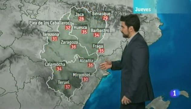 El tiempo en Aragón -