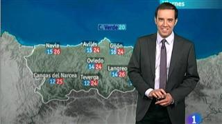 El tiempo en Asturias - 12/07/12