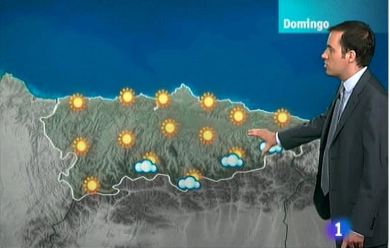 El tiempo en Asturias - 13/07/12