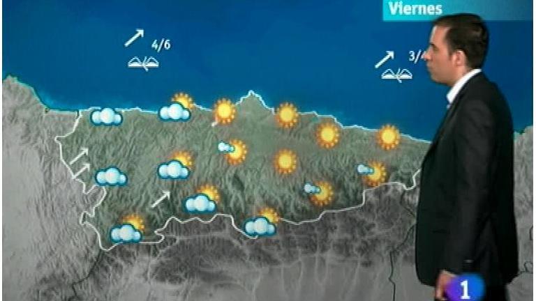 El tiempo en Asturias - 14/06/12